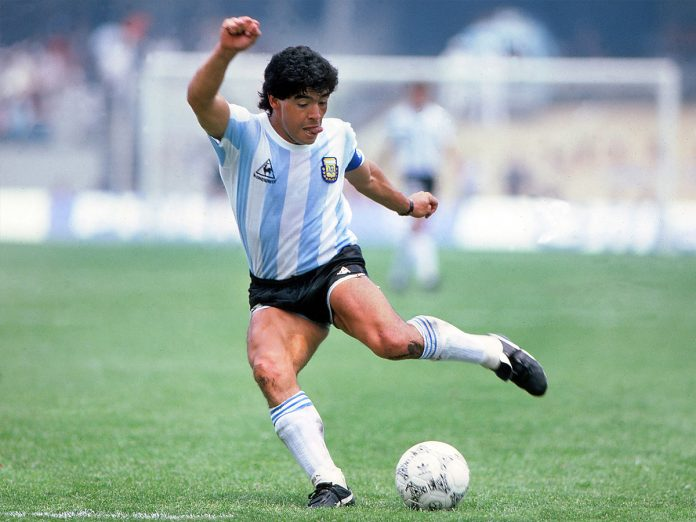 DIEGO MARADONA MADE HIMSELF THE TALK OF THE CROWD IN THE WORLD OF FOOTBALL