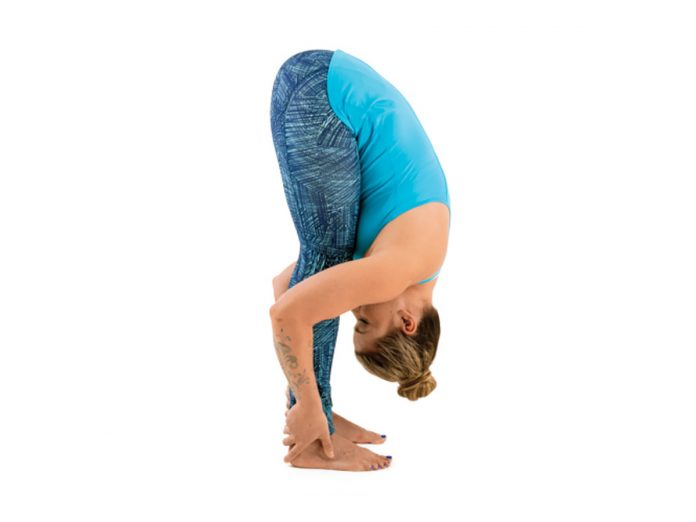 Standing Forward Bend or Uttanasana