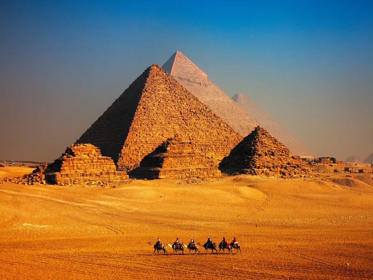 What is so interesting about pyramids
