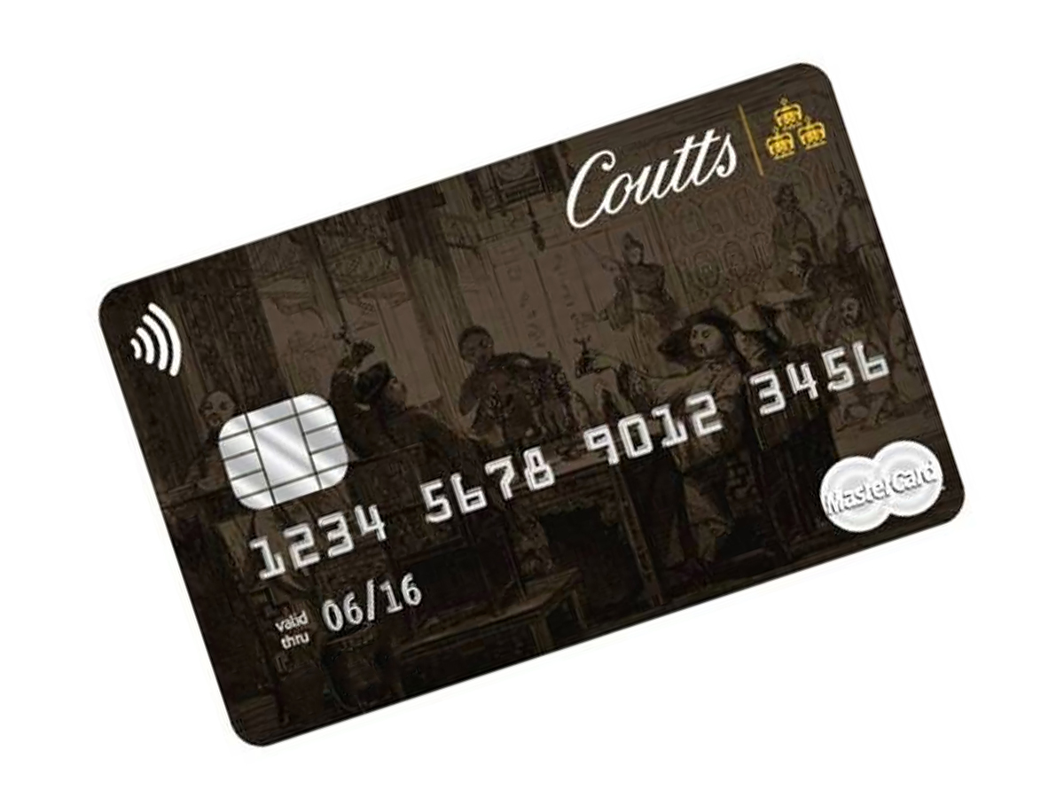 Coutts Silk Credit Card