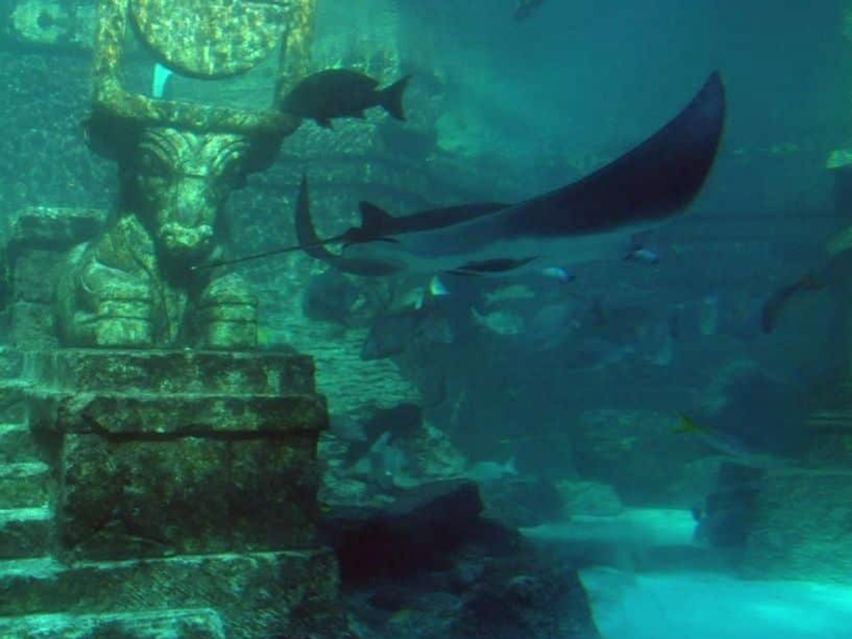 remains of mythical atlantis