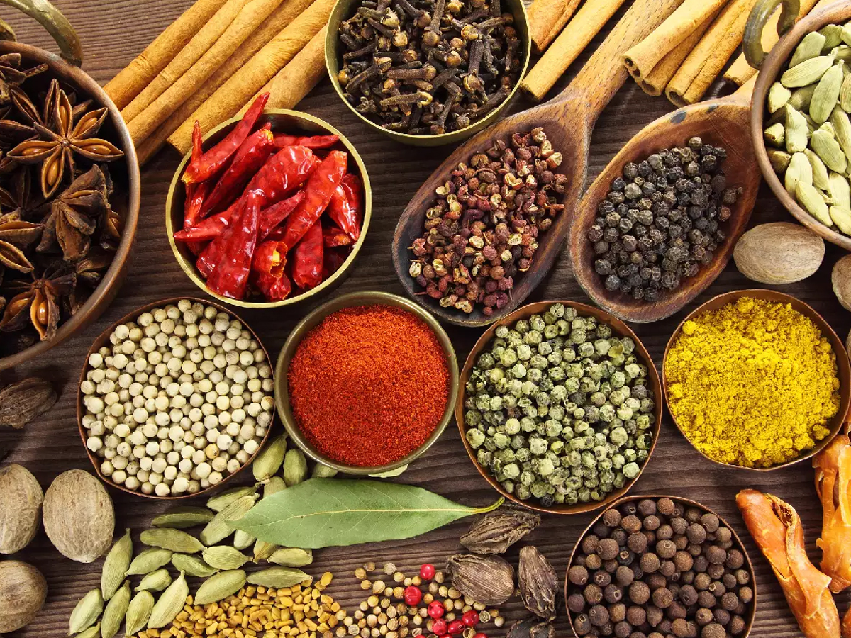 spices are the soul of indian diet