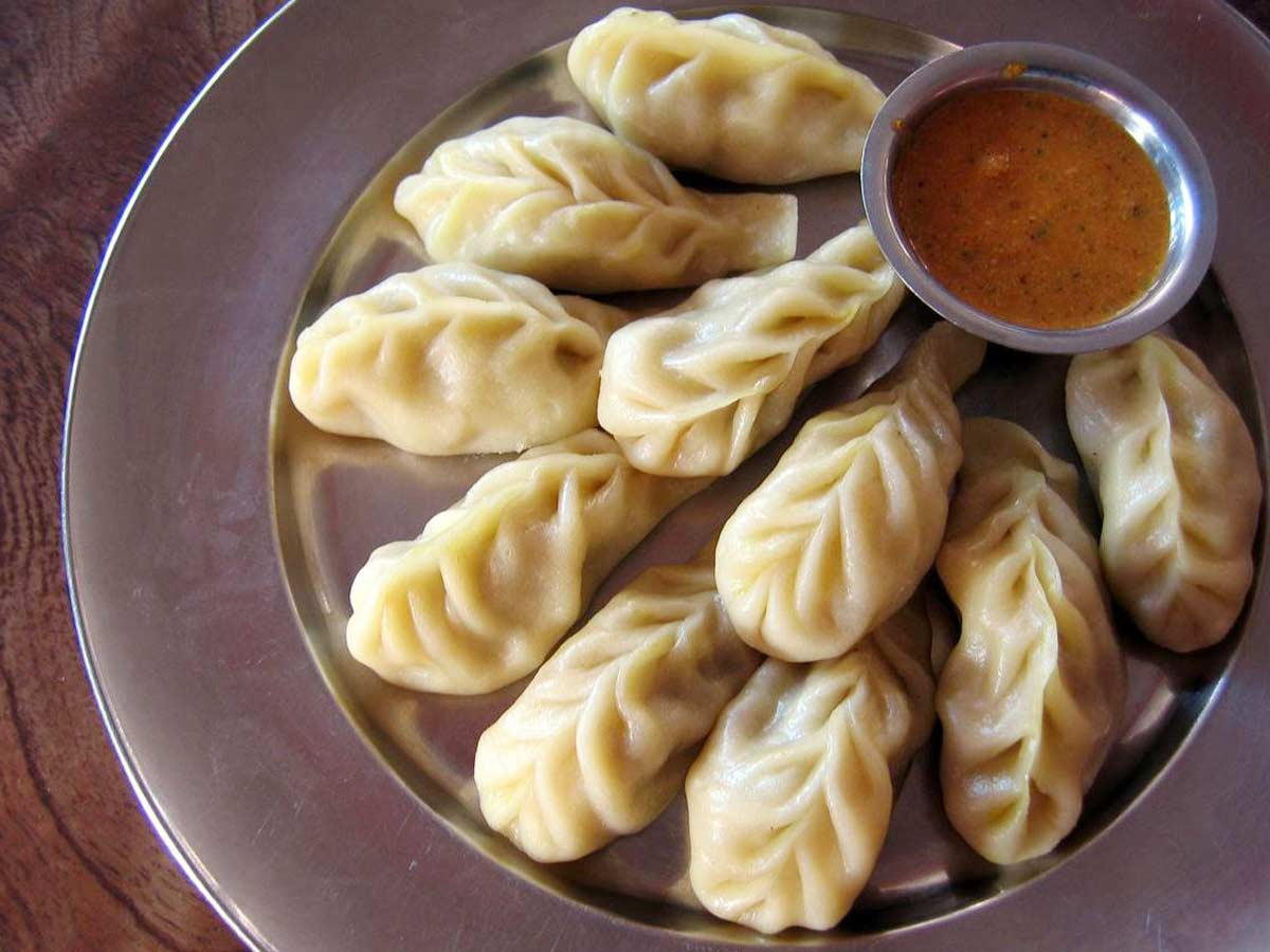 Chicken Momos in india
